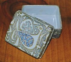 Your place to buy and sell all things handmade Royal Copenhagen, Blue Abstract, Gray Background, Trinket Boxes, Gifts For Mom, Jewelry Box, My Etsy Shop, Buy And Sell, Mothers
