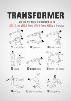 Workout TRANSFORMER
