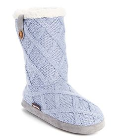 Love this Light Blue Arden Slipper on #zulily! #zulilyfinds
