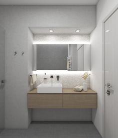 Moderní koupelna LOFT - vizualizace