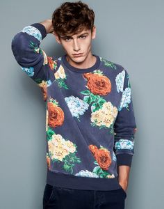 Tom Webb for Pull&Bear, Flowers & Stripes Collection 2014