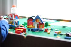 Train table to Lego Table DIY from:@ a pretty cool life.
