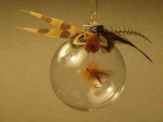 Flyfishing Ornament