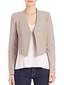 BCBGMAXAZRIA - Open-Front Suiting Jacket