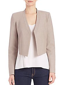 BCBGMAXAZRIA - Open-Front Suiting Jacket