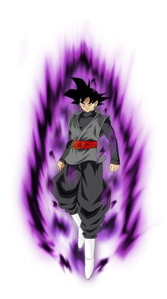 Goku black Power kii by jaredsongohan