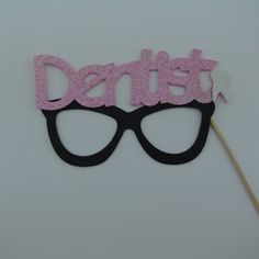 Dentist Photo Booth Glasses Party Favor custom by PICWRAP