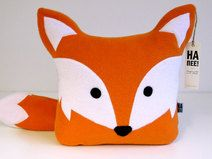 Fuchs-Kissen Fox Decor, Little Fox, The Little Prince, Animal Crafts, Patches, Arts And Crafts, Babys, Pillows, Sewing Diy