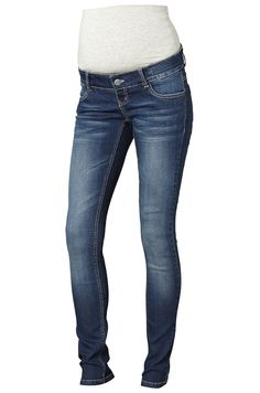 """Äitiysfarkut Mamalicious Ida Basic - malli. Myös pitkiä 34"""" kokoja. Katso lisää: http://www.mammas.fi/product/34/aitiysfarkut-ida-basic-blue"""