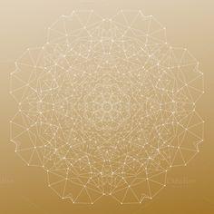Bundle of 7 golden backgrounds by VetcorShop on @creativemarket