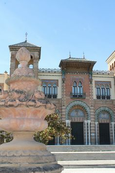 Sevilla. Parque de Maria Luisa. Plaza de América.