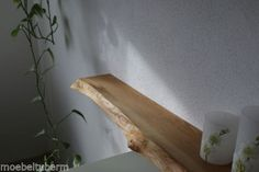 Wandboard-Eiche-Wild-Massiv-Holz-Board-Regal-Steckboard-Regalbrett-Baumkante