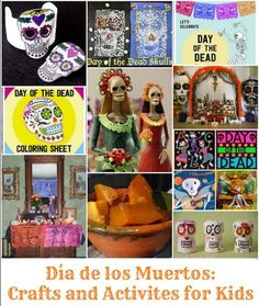 Day of the Dead Activities: tons of activities and crafts for kids