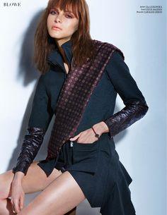 BLOWE magazine  Jacket by Ula Zukowska