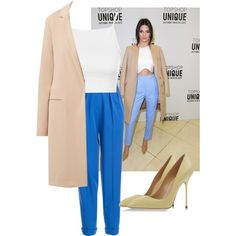 A fashion look from March 2015 featuring Topshop tops, Roksanda Ilincic pants and Sergio Rossi pumps. Browse and shop related looks.