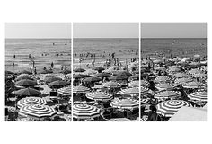 Cefalu, Sicily Umbrellas Triptych on OneKingsLane.com