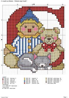 alfabeto degli orsetti : C