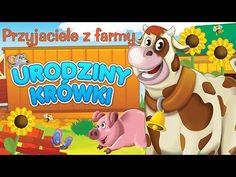 Bajka dla dzieci - Przyjaciele z farmy - Urodziny krówki