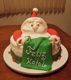Bolo Papai Noel by Maria Luísa Ferreira.