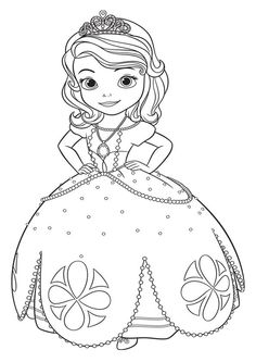 dibujos para colorear de la princesa sofia - Buscar con ...