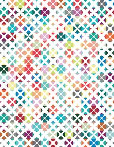 """""""Chi"""" quilt pattern designed by Emily Cier. Features Kona Cotton. FREE pattern."""