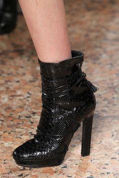 boots @ Emilio Pucci Fall 2015
