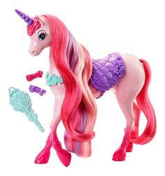 Кукла Barbie ( Кукла Барби ) Сказочно длинные волосы Единорог   Barbie.Ru   Барби в России