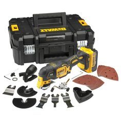 DeWALT Oscillating Kit supplied by Power Tools UK leading industrial stockist of DeWALT Oscillating Tools and DeWALT Accessories for corded and cordless Multi Tools including this DeWALT Oscillating Kit 5035048460764