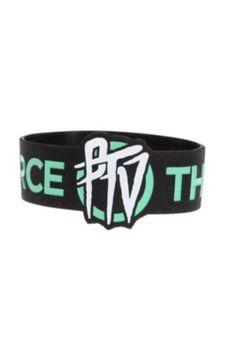 Pierce The Veil PTV Rubber Bracelet