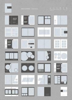 Portfolio Design Layouts, Portfolio D'architecture, Mise En Page Portfolio, Graphic Design Layouts, Book Design Layout, Web Design, Brochure Design Layouts, Modeling Portfolio, Brochure Design