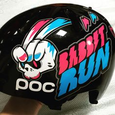 Bike rabbit. 'BABBITRUN' Extreme brand character helmet tuning skin graphicer design. Designed by DOLDOL.  www.graphicer.com.  #Snowboard #skateboard #sk8 #longboard #surf #hiphop #bike #graphicer #mtb  #스노우보드 #롱보드 #그래피커 #토끼 #할리퀸 #헬멧 #graffiti #character #돌돌디자인 #일러스트 #rabbit #stickers #인스타그램 #cheetha #runing #illustration #헬멧스티커 #helmet #스노우보드스티커 #바빗런 #babbitrun #헬멧튜닝