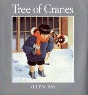 Tree of Cranes  by Allen Say - Show your child what Christmas is like from a new perspective in Tree of Cranes. The plot is told through a long paragraph per page, and will introduce your child to some aspects of Japanese culture.