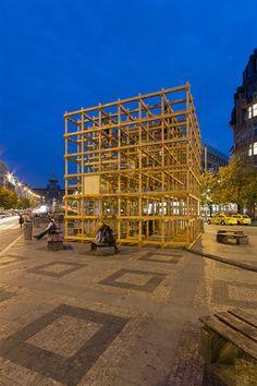 Designblok cube, Václavské náměstí | H3T architekti rostislav zapletal 2014