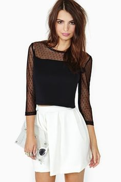 567bec61a974f Get your crop top on! Shop the best range of lace