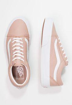 Chaussures Vans OLD SKOOL DX - Baskets basses - maghogany rose/true white beige: 94,95 € chez Zalando (au 29/11/17). Livraison et retours gratuits et service client gratuit au 0800 915 207.