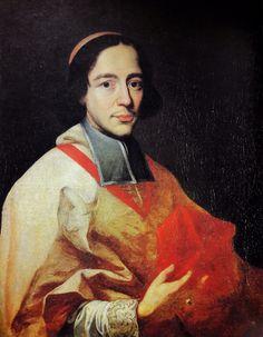 Portrait of cardinal Jan Kazimierz Denhoff by Giovanni Maria Morandi, ca. 1687 (PD-art/old), Muzeum Historyczno-Misyjne Księży Misjonarzy, possibly an illegitimate son of king John II Casimir Vasa, was an ambassador of the Polish-Lithuanian Commonwealth in Rome