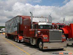 The V8 Mack Superliner, #Truck #Truckers #transport  #Mack #V8