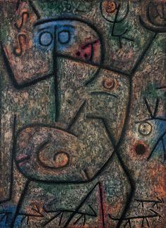 Oh ! les rumeurs ! par Paul Klee