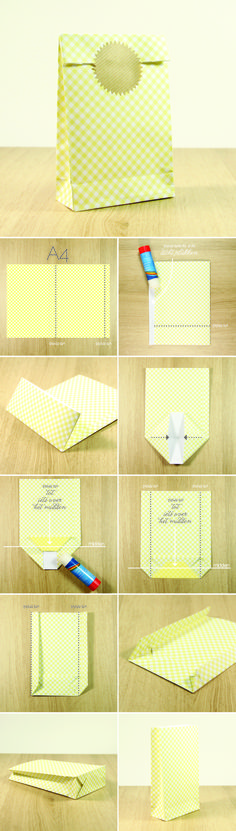 Diy paper bag christmas gift boxes 56 New ideas Diy Gift Box, Diy Box, Diy Gifts, Paper Crafts Origami, Diy Origami, Paper Gifts, Diy Paper Bag Gift, Creative Gifts, Gift Bags