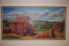 Den magnifika konsten i hörsalen på Mjölby stadshus
