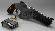 Steampunk Pistol by dreamdesigner442 on deviantART