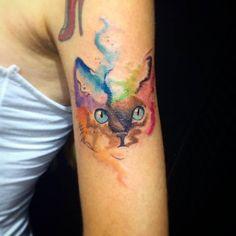 tattoo arte gato - Pesquisa Google