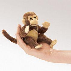 Folkmanis Puppet Mini Monkey $7.05