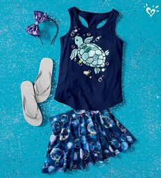 Sparkle every day in head-to-toe shimmer. Cute Girl Outfits, Cute Outfits For Kids, Cute Summer Outfits, Cool Outfits, Justice Girls Clothes, Justice Clothing, Justice Outfits, Tween Fashion, Girls Fashion Clothes
