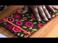 Porta-blocos de cartonagem - Artesanato - Ateliê Centauro - Artesã Valeria Moraes - YouTube