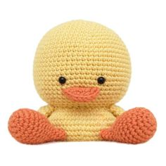 Henry the Duck Amigurumi Pattern.