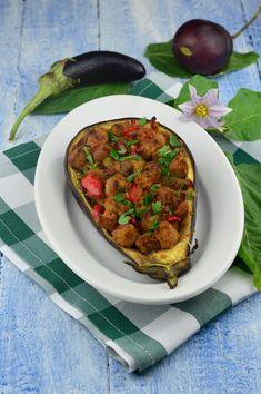 Vinete umplute cu soia - CAIETUL CU RETETE Chana Masala, Baby Food Recipes, Beef, Ethnic Recipes, Vegan Vegetarian, Recipes For Baby Food, Meat, Ox, Ground Beef