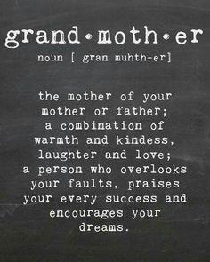 Grandmother...