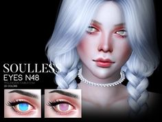 Unique eyes in 20 colors.  Found in TSR Category 'Sims 4 Eye Colors'