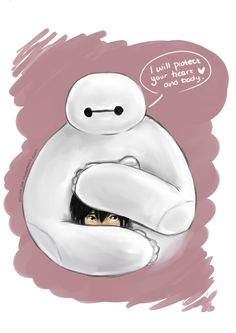 """"""" I swear, when I watched the first few moments of the Big Hero 6 Japanese trailer my poor fragile ."""